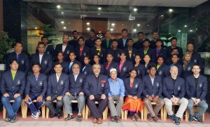 Official Photo Session of Bangladesh Contingent for 4th Islamic Solidarity Games